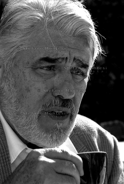 March 1997..Swiss actor Mario Adorf in Rome