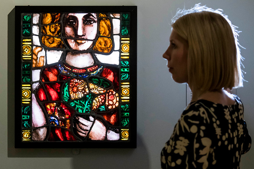 Self-portrait, 1958, by artist and actor, Pauline Boty - The National Portrait Gallery, London opens brand new gallery spaces devoted to its early 20th Century Collection on 4 November 2017. The creation of these new spaces within the Gallery's free permanent Collection, has been made possible by a grant from the DCMS/ Wolfson Museums & Galleries Improvement Fund. London 03 Nov 2017.