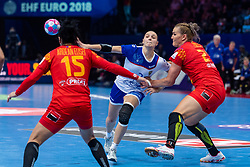 14-12-2018 FRA: Women European Handball Championships Russia - Romania, Paris<br /> First semi final Russia - Romania 28 - 22 / Daria Dmitrieva #7 of Russia
