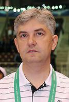 Fussball  International  FIFA  FUTSAL WM 2008   01.10.2008 Vorrunde Gruppe D Spain - Iran Spanien- Iran Der spanische Trainer Venancio LOPEZ (ESP).