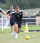 Dundee new boy Daryll Meggatt - Dundee pre-season training at University grounds, Riverside<br /> <br />  - &copy; David Young - www.davidyoungphoto.co.uk - email: davidyoungphoto@gmail.com