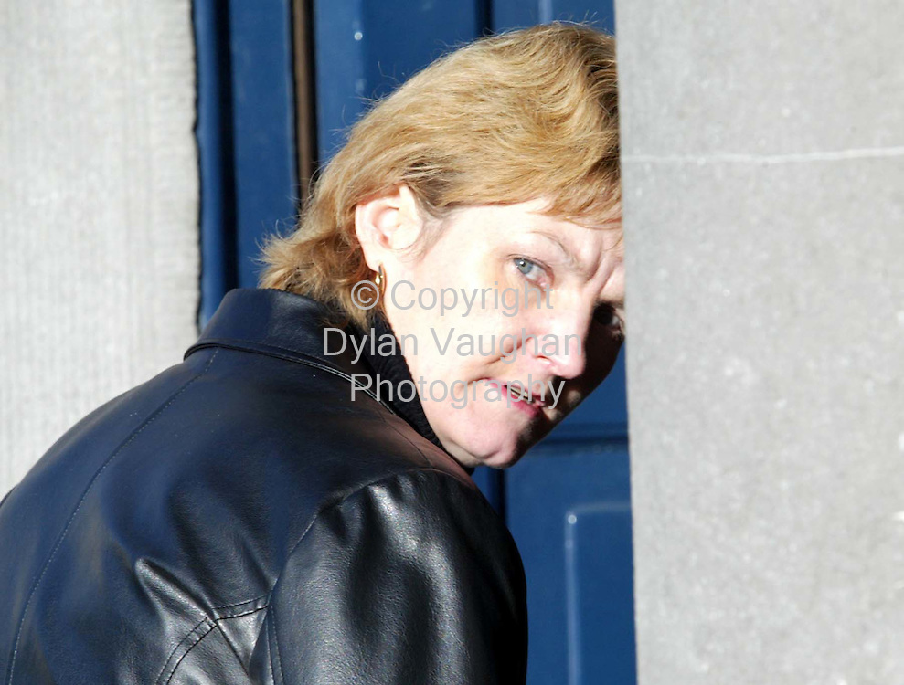 27/1/2003.Bridget Dowling pictured at Kilkenny Court yesterday in relation to a hit and run incident..Picture Dylan Vaughan