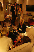 LADY SOPHIA HESKETH Dinner hosted by Elizabeth Saltzman for Donatella Versace. Claridge's Hotel, Brook Street, Mayfair, London. 11 March 2008.  *** Local Caption *** -DO NOT ARCHIVE-© Copyright Photograph by Dafydd Jones. 248 Clapham Rd. London SW9 0PZ. Tel 0207 820 0771. www.dafjones.com.