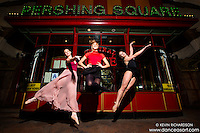Pershing Square Ballerinas- featuring Briony West, Cana Rhode and Taylor Gerrasch. Dance as Art The New York Photography Project