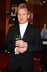 GORDON RAMSAY at the 2006 British Book Awards held at The Grosvenor House Hotel, Park lane, London on 29th April 2006.<br />