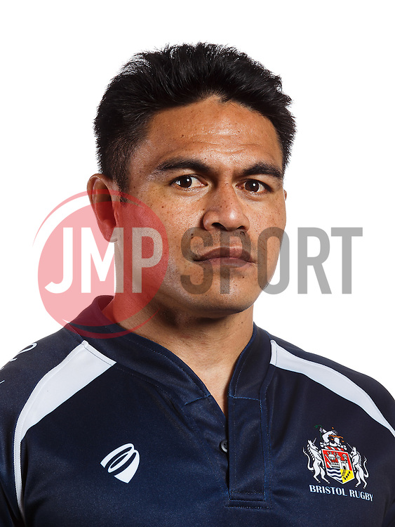 David Lemi of Bristol Rugby poses for a head shot during the 2015/16 Greene King IPA Championship season - Mandatory byline: Rogan Thomson/JMP - 07966 386802 - 08/10/2015 - RUGBY UNION - Clifton Rugby Club - Bristol, England - Bristol Rugby Head Shots.