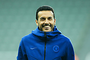 Pedro (#11) of Chelsea on the pitch ahead of the Premier League match between Newcastle United and Chelsea at St. James's Park, Newcastle, England on 18 January 2020.