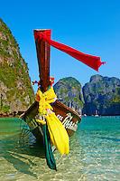 Thailande, province de Krabi, Ko Phi Phi, ile de Ko Phi Phi Le, Ao Maya // Thailand, Krabi province, Ko Phi Phi Le island, Ao Maya