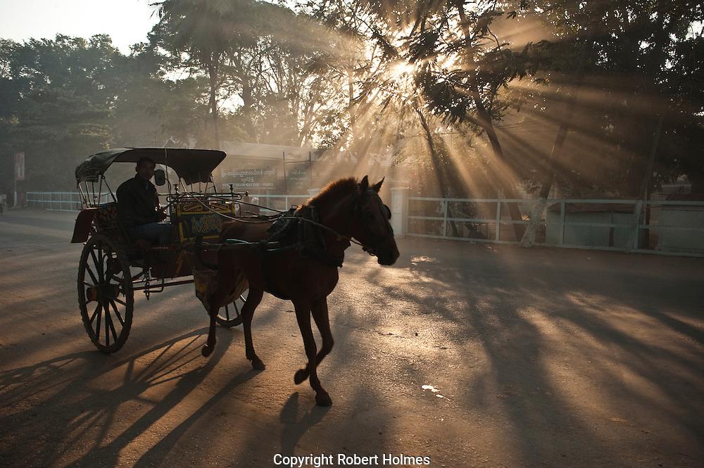 Early morning in Bagan, Myanmar