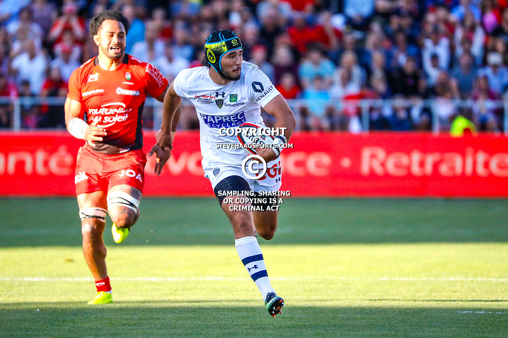 Sitaleki Timani of Clermont during the pre-season match between Rc Toulon and Clermont Auvergne at Felix Mayol Stadium on August 11, 2017 in Toulon, France. (Photo by Guillaume Ruoppolo/Icon Sport)