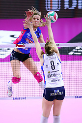 28-04-2017 ITA: Pomi Casalmaggiore - Igor Gorgonzola Novara, Cremona<br /> Semi Final playoff / Judith Pietersen #8<br /> <br /> ***NETHERLANDS ONLY***