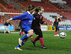 Schools from Bristol compete in the Bristol Sport Schools Cup competition - Photo mandatory by-line: Dougie Allward/JMP - Mobile: 07966 386802 - 19/03/2015 - SPORT - Football - Bristol - Ashton Gate - Bristol Sport Schools Cup