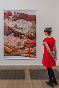 Astro Crusto, a 2012 - Wolfgang Tillmans: 2017. Tate Modern's new exhibition. Highlights include: large scale photographic works printed especially for this exhibition, including the four-meter tall Weed 2014 and dramatic seascapes such as The State We're In, A 2015;   New 'text and table' sculptures including Time Mirrored 3 2017, on display to the public for the first time; and slide projection Book for Architects 2014. The show is at Tate Modern from 15 February to 11 June 2017.