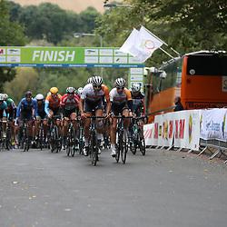 02-10-2016: Wielrennen: Olympia Tour: Margraten <br />NOORDBEEK (NED) wielrennen  <br />Rabobank Development team controleerd bij de passage finish Noorbeek