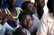 """At least, 20,000 children, women and men were abducted into Joseph Kony's army over the years and forced to take part in horrific killings as a way of brainwashing them into a culture of violence. Many young woman are forced to """"marry"""" rebel commanders, and often came home with children. (PHOTO: MIGUEL JUAREZ LUGO)."""