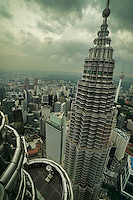 Alternative View of KL from Petronas Towers' Observation Deck
