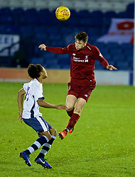 BURY, ENGLAND - Wednesday, March 6, 2019: Liverpool's Morgan Boyes during the FA Youth Cup Quarter-Final match between Bury FC and Liverpool FC at Gigg Lane. (Pic by David Rawcliffe/Propaganda)