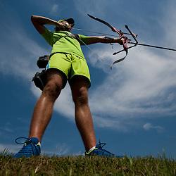 20120721: SLO, Archery - Slovenian archer Klemen Strajhar
