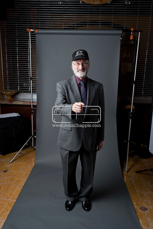 24th February 2011. Las Vegas, Nevada.  Celebrity Impersonators from around the globe were in Las Vegas for the 20th Annual Reel Awards Show. Pictured is Howie Slater as director Steven Spielberg. Photo © John Chapple / www.johnchapple.com..
