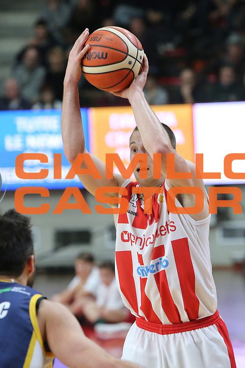 Avramovic Aleksa<br /> Openjobmetis Varese - Fiat Torino<br /> Lega Basket Serie A 2017/2018<br /> Varese, 14/01/2018<br /> Foto Ciamillo - Castoria