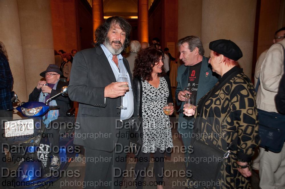 EDDIE GRAY; BARNEY BARNES; SARAH MUNN; KEVIN WHITNEY; JANET SLEE, Early works 1965-1982. Tate Britain. 26 September 2011. <br /> <br />  , -DO NOT ARCHIVE-© Copyright Photograph by Dafydd Jones. 248 Clapham Rd. London SW9 0PZ. Tel 0207 820 0771. www.dafjones.com.