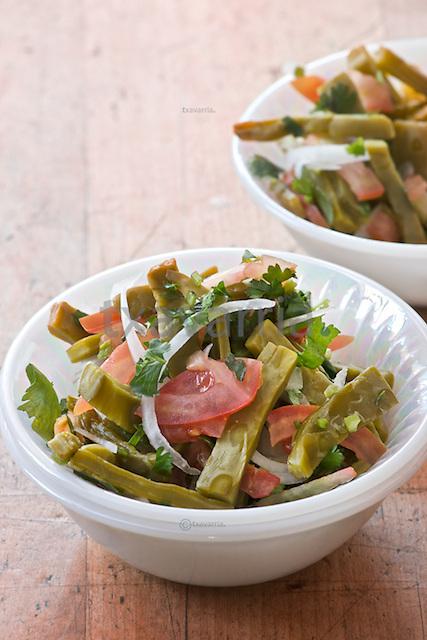Ensalada de Nopalitos, Cactus paddle salad