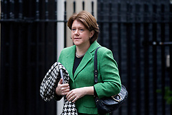 © Licensed to London News Pictures. 03/12/2012. London, UK. The British Secretary of State for Culture, Media and Sport Maria Miller is seen on Downing Street in London today (03/12/12). Photo credit: Matt Cetti-Roberts/LNP