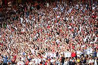 2016.06.20 Saint-Etienne<br /> Pilka nozna Euro 2016<br /> mecz grupy C Slowacja - Anglia<br /> N/z kibice doping atmosfera widok ilustracja<br /> Foto Lukasz Laskowski / PressFocus<br /> <br /> 2016.06.20 Saint-Etienne<br /> Football UEFA Euro 2016 group C game between Slovaki and England<br /> kibice doping atmosfera widok ilustracja<br /> Credit: Lukasz Laskowski / PressFocus
