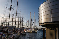 Norway, Stavanger. Tall Ships Race in Stavanger 2011. Norwegian Petroleum Museum.