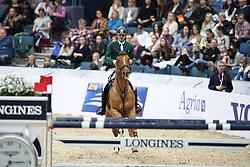 Skrzyczynski, Jaroslaw (POL), Crazy Quick<br /> Göteborg - Horse Show FEI World Cup Final 2016 <br /> Zeitspringen FEI Weltcup<br /> © www.sportfotos-lafrentz.de / Stefan Lafrentz