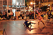 The SMAG Dance Collective performs during the fall Urban Nights in downtown Dayton, Friday, September 14, 2012.