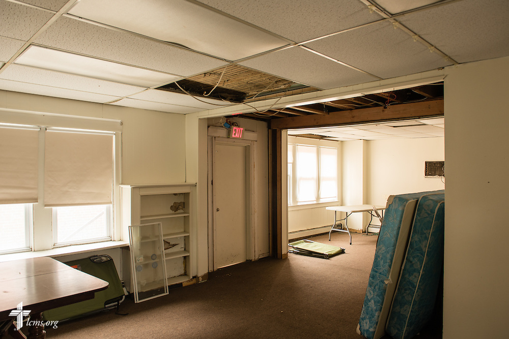 Interior photograph of the building adjacent to Shepherd of the City Lutheran Church, a church plant and focus of Philadelphia Lutheran Ministries, on Monday, Nov. 2, 2015, in Philadelphia.  LCMS Communications/Erik M. Lunsford
