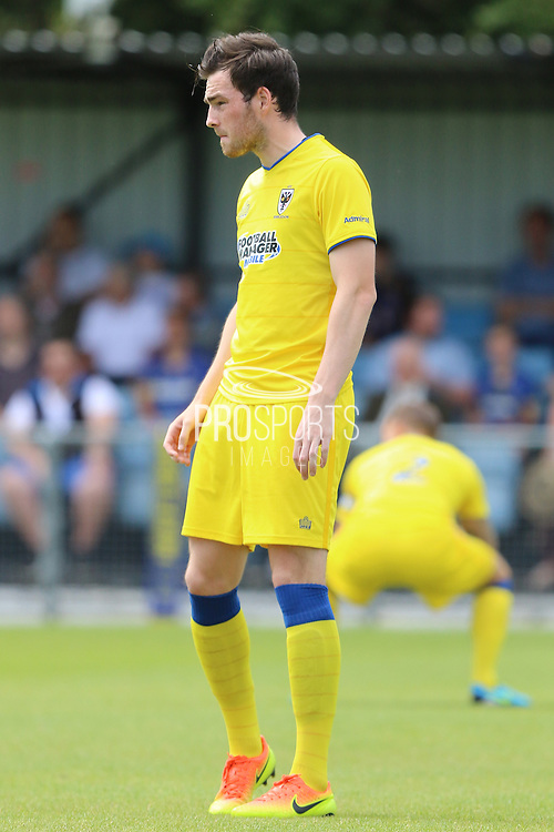 AFC Wimbledon defender Sean Kelly during the Pre-Season Friendly match between Margate and AFC Wimbledon at Hartsdown Park, Margate, United Kingdom on 16 July 2016. Photo by Stuart Butcher.