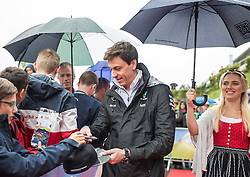 03.07.2016, Red Bull Ring, Spielberg, AUT, FIA, Formel 1, Grosser Preis von Österreich, Red Carpet, im Bild Teammanager Toto Wolff (AUT) Mercedes AMG Petronas F1 Team // Mercedes AMG F1 Director of Motorsport Toto Wolff (AUT) during the red carpet for the Austrian Formula One Grand Prix at the Red Bull Ring in Spielberg, Austria on 2016/07/03. EXPA Pictures © 2016, PhotoCredit: EXPA/ Johann Groder