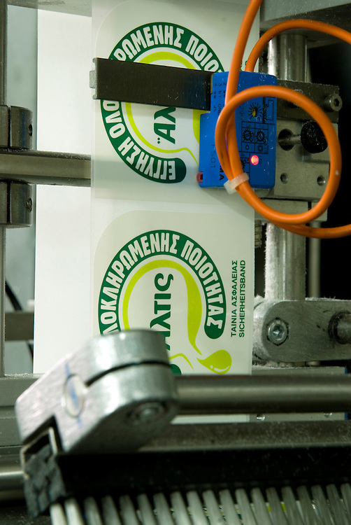the labeling machine