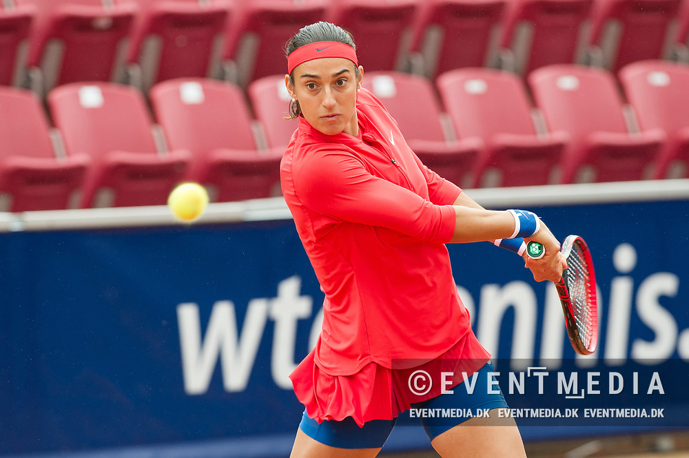 Caroline Garcia (France) at the 2017 WTA Ericsson Open in Båstad, Sweden, July 29, 2017. Photo Credit: Katja Boll/EVENTMEDIA.