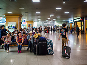 SEOUL, SOUTH KOREA: The passenger waiting area at Seoul Station, the largest train station in South Korea.  PHOTO BY JACK KURTZ