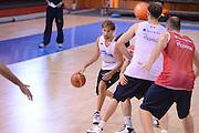 Chamutov 17 Agosto 2012 - qualificazioni Eurobasket 2013 - Allenamento<br /> Nella Foto : GIUSEPPE POETA<br /> Foto Ciamillo/Castoria