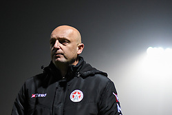 Slobodan Grubor, head coach of Aluminij during football match between NK Aluminij and NK Maribor in 18th Round of Prva liga Telekom Slovenije 2019/20, on November 24, 2019 in Sportni park Aluminij, Kidricevo Slovenia. Photo by Milos Vujinovic / Sportida