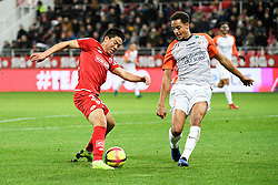 January 13, 2019 - Dijon, France - 22 CHANGHOON KWON (DIJ) - 03 DANIEL CONGRE  (Credit Image: © Panoramic via ZUMA Press)