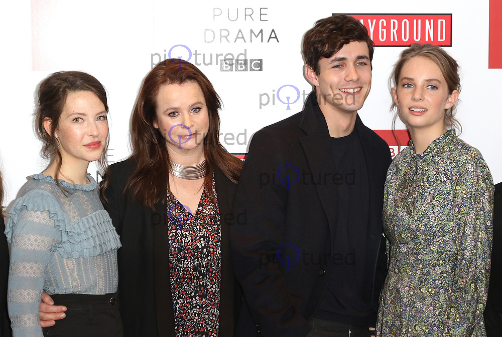 Annes Elwy, Emily Watson, Jonah Hauer-King, Maya Thurman-Hawke, Little Women - Special Q&A Screening, The Soho Hotel, London UK, 11 December 2017, Photo by Richard Goldschmidt