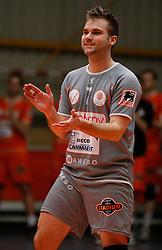 05-02-2014 VOLLEYBAL: CHALLENGE CUP EUPHONY ASSE LENNIK - ISTANBUL BBSK: ZELLIK<br /> Dirk Sparidans (7) Euphony Asse - Lennik<br /> ©2014-FotoHoogendoorn.nl / Pim Waslander
