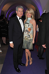 JOHN & AVERY FRIEDA at The Surrealist Ball in aid of the NSPCC in association with Harpers Bazaar magazine held at the Banqueting House, Whitehall, London on 17th March 2011.