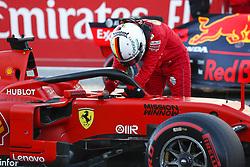 November 2, 2019, Austin, United States of America: Motorsports: FIA Formula One World Championship 2019, Grand Prix of United States, ..#5 Sebastian Vettel (GER, Scuderia Ferrari Mission Winnow) (Credit Image: © Hoch Zwei via ZUMA Wire)