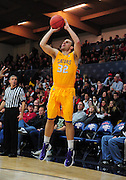 November 27, 2011; Moraga, CA, USA; San Francisco State Gators forward Thomas Nesbitt (32) shoots the ball during the first half of the Shamrock Office Solutions Classic against the Saint Mary's Gaels at McKeon Pavilion.