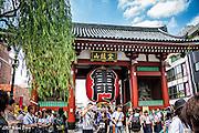 Kaminarimon Gate<br /> Asakusa, Tokyo, Japan<br /> May 2015