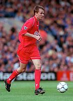 Dietmar Hamann (Liverpool) Chelsea v Liverpool, F.A.Carling Premiership, 1/10/2000. Credit Colorsport / Nick Kidd.