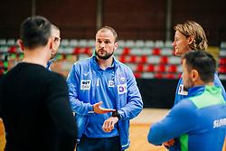 Assistant coach Uros Zorman during meeting after COVID-19 of Slovenian handball national team at dvorana Kodeljevo on May 26th 2020, Ljubljana, Slovenia. Photo by Sinisa Kanizaj / Sportida
