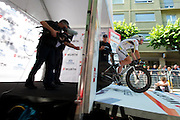 Cavendish gets released at the prologue start.  He'll have a few nice sprint stages to shoot for this year.