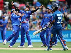 Dunedin-Cricket, Afghanistan v Sri Lanka